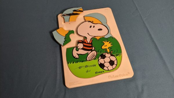 Snoopy Holzpuzzle Fisher Prize