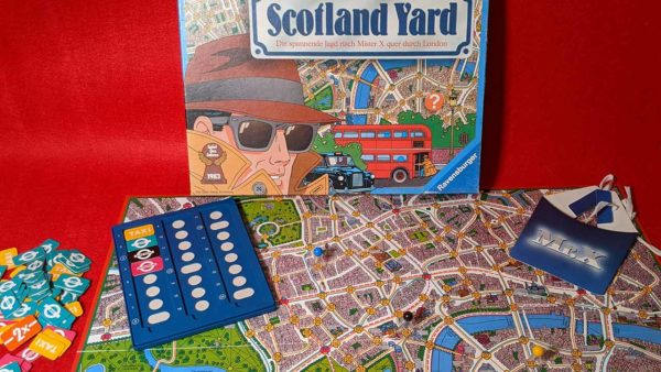 Brettspiel Scotland yard